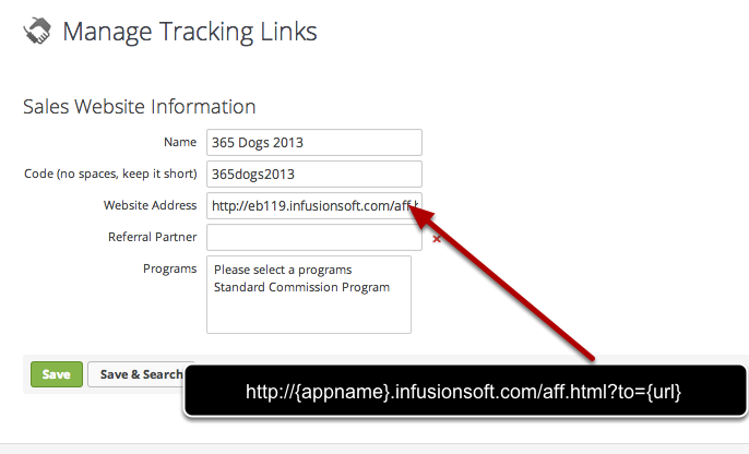 Setting up Affiliate Links / Referral Partner Tracking in